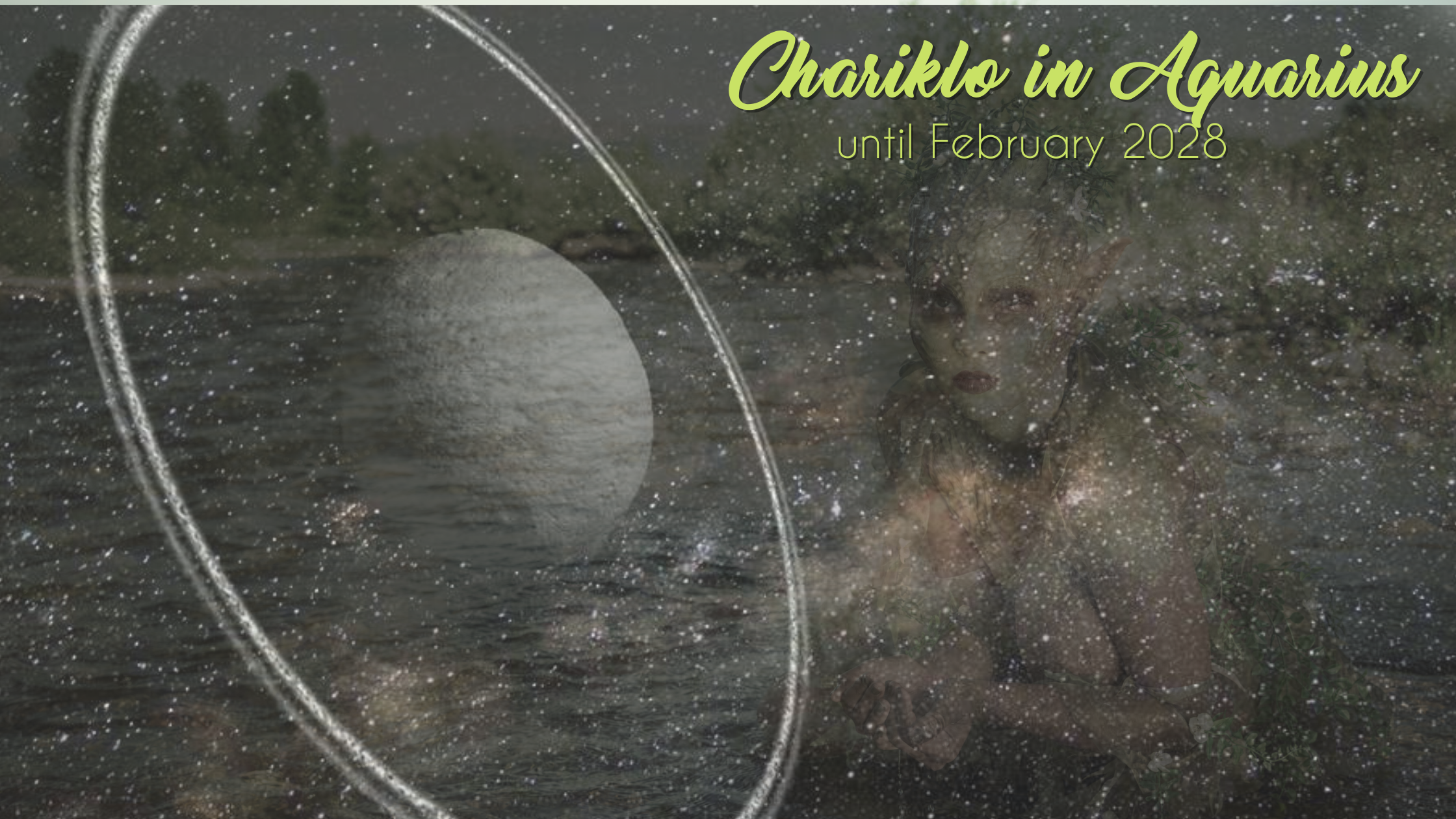 Chariklo in Aquarius – until February 2028