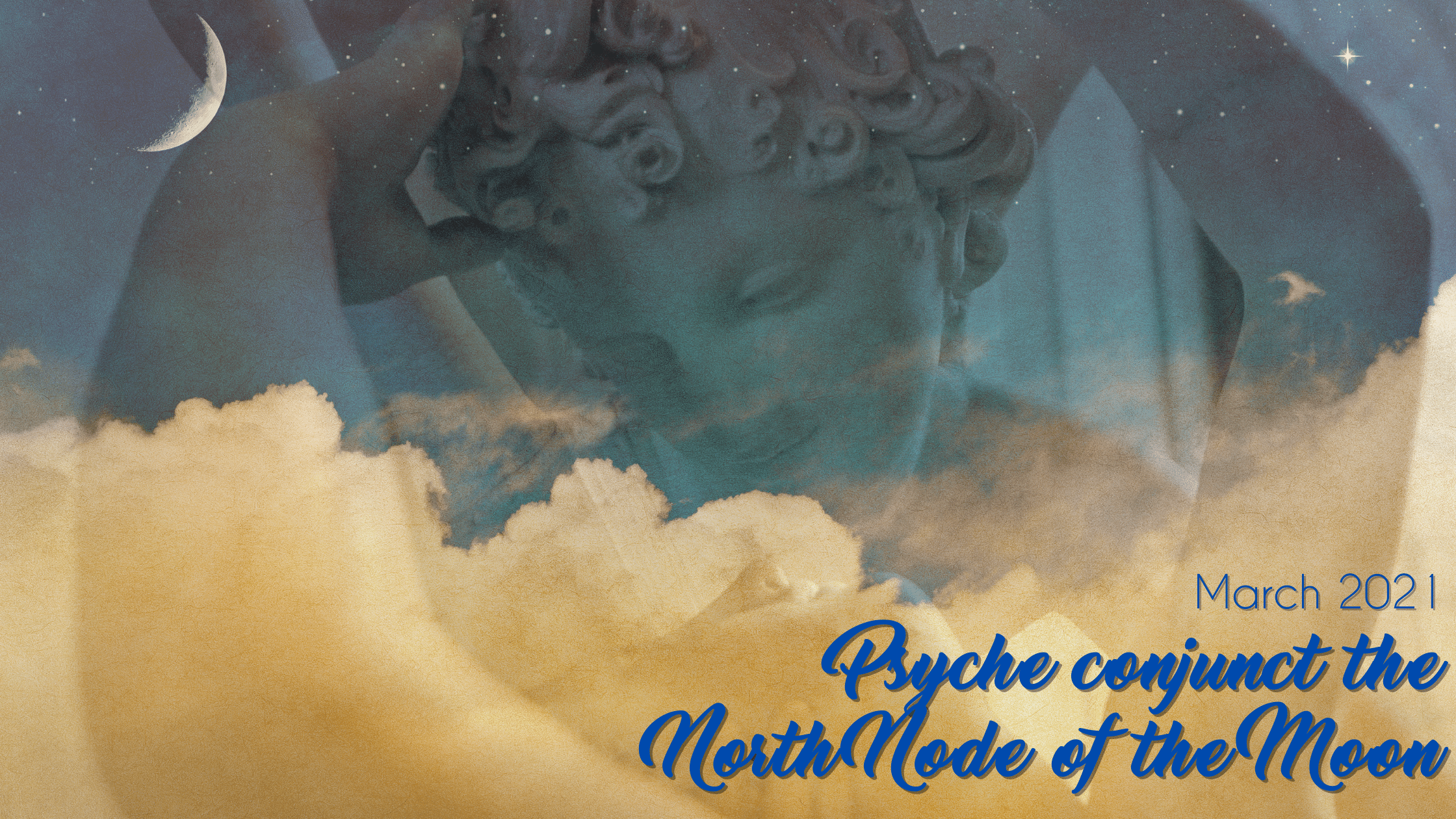Psyche conjunct the North Node of the Moon – March 2021